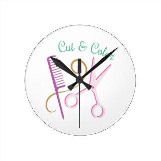 Cut & Color Wall Clock