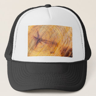 Cut down a tree with annual rings trucker hat