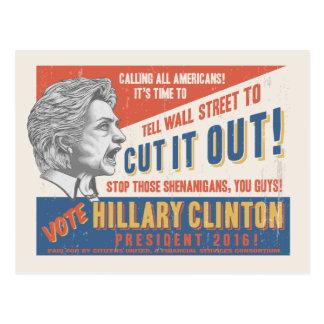 Cut It Out! Postcard