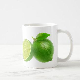 Cut limes coffee mug