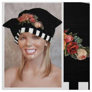 Cut & Sew Fashion Sticker Hat Craft Panel Fabric