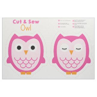 Cut & Sew Owl Fabric