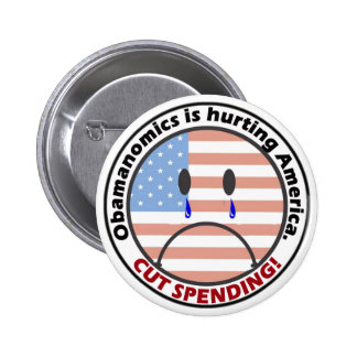 Cut Spending - Listen to the People!! 2 Inch Round Button