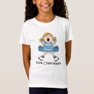 Cute 100 Percent Cheerleader - Blond T-Shirt