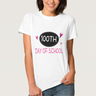 Cute 100th Day Of School Teacher Gift Tee Shirt