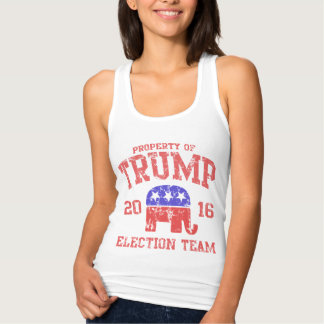 Cute 2016 Donald Trump Election Team Tank Top