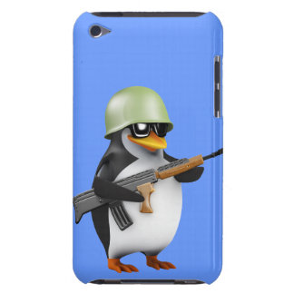 Cute 3d Soldier (editable) iPod Case-Mate Cases
