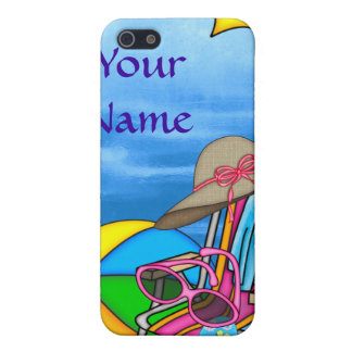 CUTE 4s ON THE BEACH Cover For iPhone 5/5S