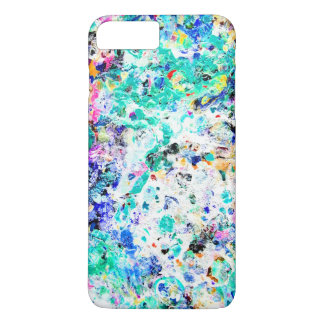 Cute abstract colored painting design iPhone 7 plus case