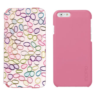 Cute Abstract Pattern Cool Incipio Watson™ iPhone 6 Wallet Case