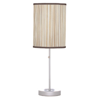 Cute abstract wood lines design table lamps