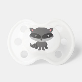 Cute, adorable baby raccoon pacifier