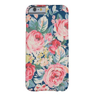 Cute Adorable Modern Blooming Flowers Barely There iPhone 6 Case