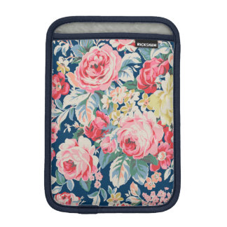 Cute Adorable Modern Blooming Flowers Sleeve For iPad Mini