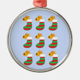 Cute Airedale Dogs in Christmas Stockings Ornament