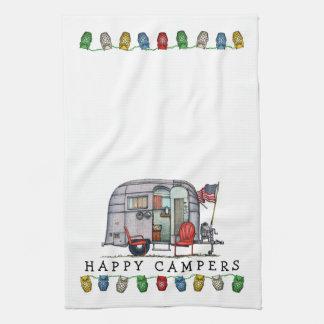 Cute Airstream Camper Travel Trailer Kitchen Towel