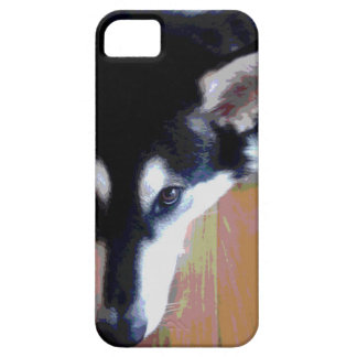 Cute Alaskan Malamute Face Case For The iPhone 5
