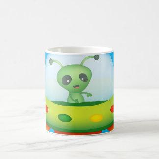 Cute Alien 11 oz Classic White Mug