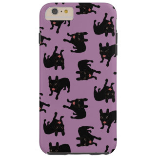 Cute all black brindle French Bulldog puppy Tough iPhone 6 Plus Case