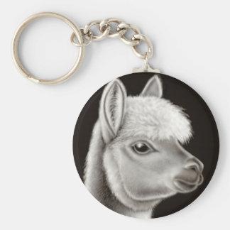 Cute Alpaca Keychain