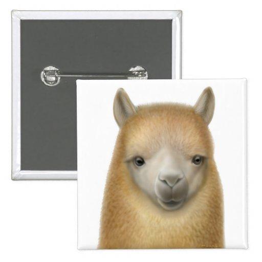 Cute Alpaca Pin