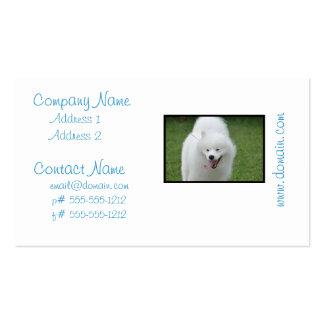 Cute American Eskimo Dog Business Card