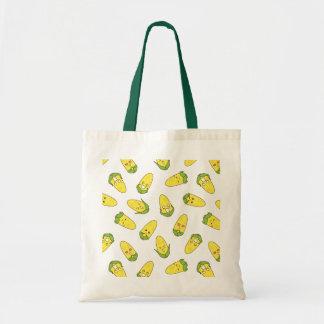 Cute Amusing Corn Expressions Pattern