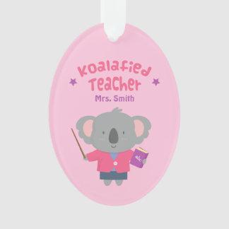 Cute Amusing Pun Koala Bear Teacher