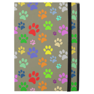 Cute and Beautiful Colorful Pet Paw Pattern