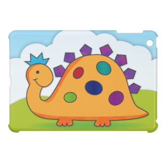 Cute and colorful cartoon spotted dinosaur cover for the iPad mini