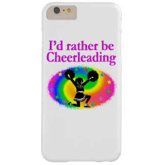 CUTE AND COLORFUL CHEERLEADING DESIGN BARELY THERE iPhone 6 PLUS CASE