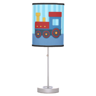 Cute and Colourful Train, for Boys Bedroom Table Lamp