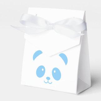 Cute and Cuddly Blue Panda Favor Box