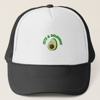 Cute And Delicious Avocado Trucker Hat