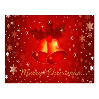 Cute and Elegant Christmas Postcard