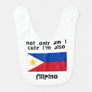 Cute And Filipino Bib