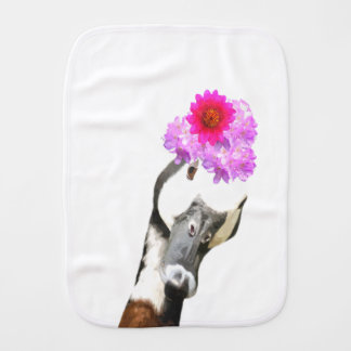 Cute and funny goose animal burp cloth