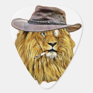 Cute and Funny Lion Guitar Pick
