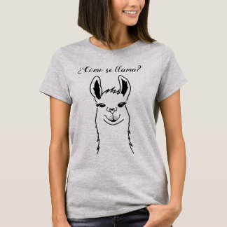 Cute and funny Llama hipster T-Shirt