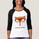 Cute and Funny Nerd Fox T-Shirt