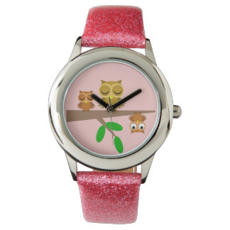 cute and funny owls watch