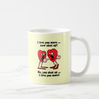 Cute and funny Valentine's Day Basic White Mug
