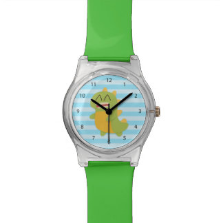 Cute and happy Dinosaur for Kids Wristwatches