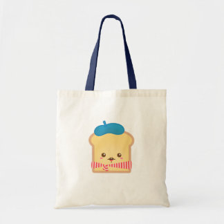 Cute and Happy French toast Tote Bag