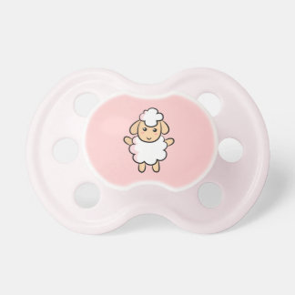 Cute and Happy Sheep Pacifier