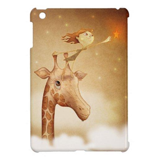 Cute and imaginative illustration cover for the iPad mini