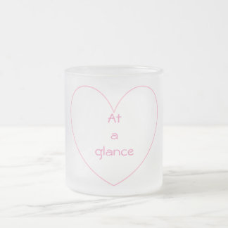 Cute and lovely heart letters Mug