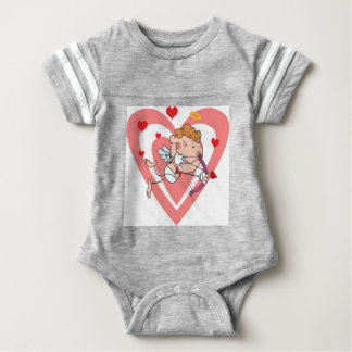 Cute and Loving Cupid Angel Baby Bodysuit