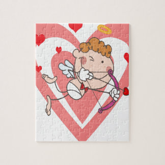 Cute and Loving Cupid Angel Jigsaw Puzzle