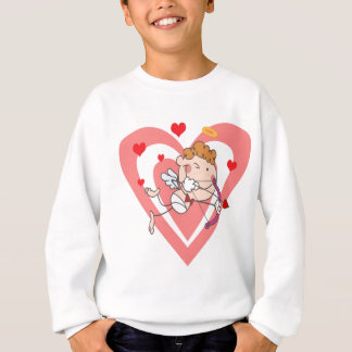 Cute and Loving Cupid Angel Sweatshirt